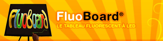 FluoBoard - Le tableau flurorescent à LED