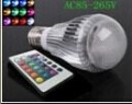 Ampoule  LED E27 RGB 9 watt